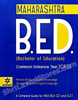 Mba Entrance Test In Maharashtra by B Ed Cet With Elct Syllabus Mht Cet