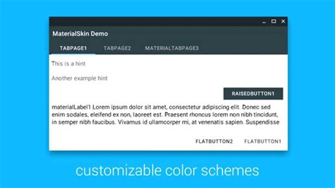 design menu vb net materialskin material design for net winforms c vb