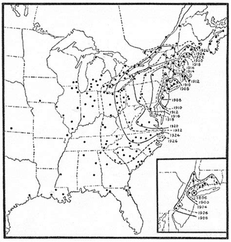 the spread of the european starling in north america by