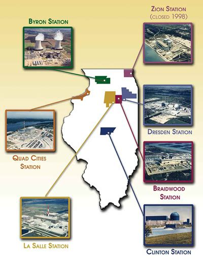 map of illinois power plants family emergency plan