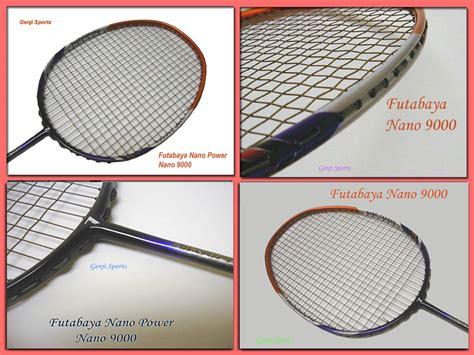 Raket Nano genji futabaya badminton racket nano 9000