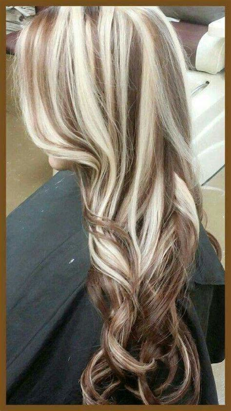 pictures of highlights and lowlights and streaks in hair 501 best chunky streaks lowlights 4 images on pinterest