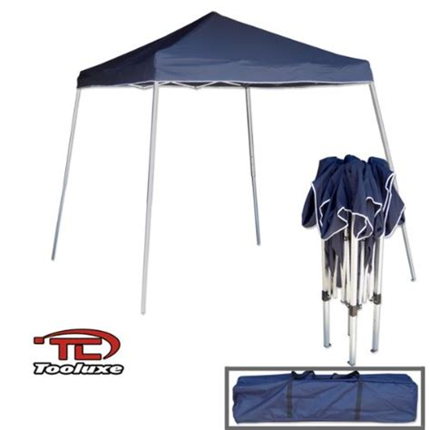Vinyl Canopy Tooluxe 61648l Portable Sun Shade Pop Up Canopy Vinyl 1