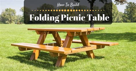 how to build a picnic table foldable picnic table folding square picnic table