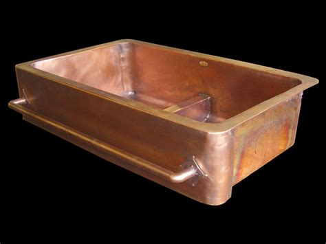 lead free copper sinks copper sinks by circle city copperworks custom copper sinks