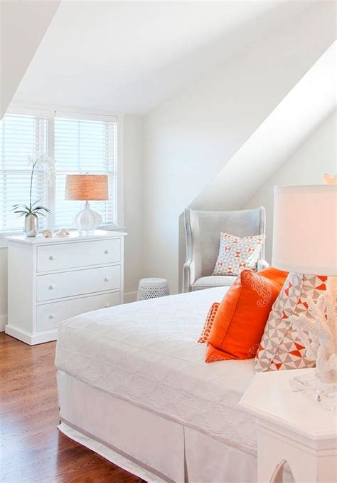 orange and gray bedroom gray and orange bedroom contemporary bedroom made by
