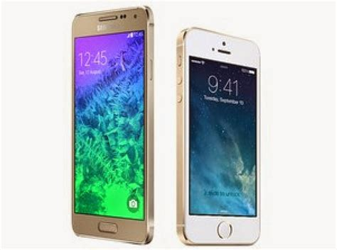 iphone v galaxy iphone 5s vs galaxy alpha specs build quality and design compared load the