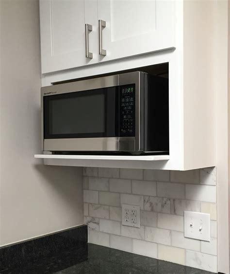 kitchen cabinets microwave shelf microwave shelf edgewood ideas pinterest