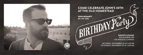 Free Birthday Party Invitations for Him   Evite.com