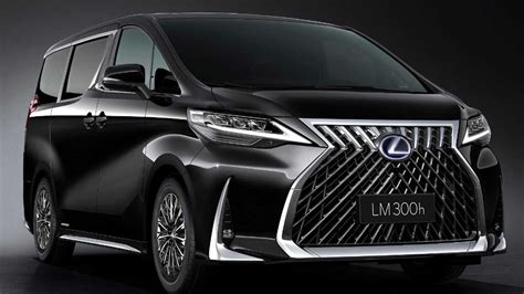 2019 lexus minivan lexus lm officially revealed as luxury minivan