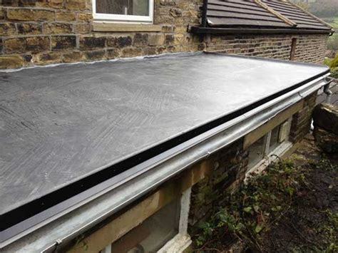 new epdm flat roof installed flat roof epdm flat roof installation