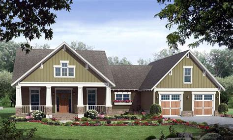 one story bungalow house plans single story craftsman house plans craftsman style house