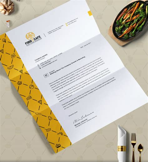 restaurant letterhead templates free 14 restaurant letterhead designs templates psd ai