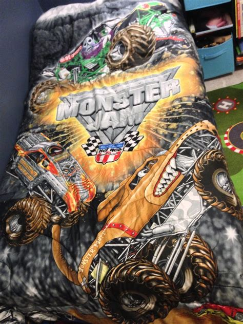 monster jam bedroom monster jam comforter monster truck room pinterest