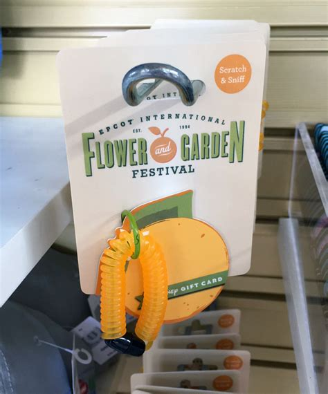 Epcot Gift Card - epcot flower and garden orange gift card 2017 the kingdom insider