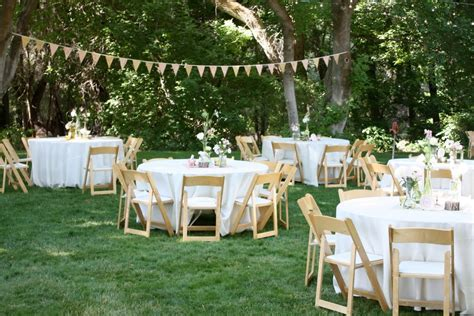 casual backyard wedding reception stunning casual wedding reception ideas pictures styles