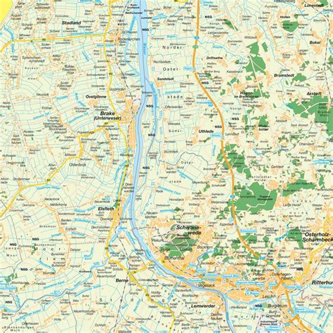 germany bremen map map of greater bremen region germany maps and directions