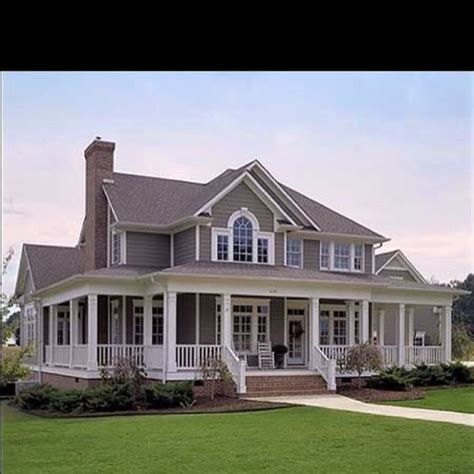 southern home plans with porches wrap around porches