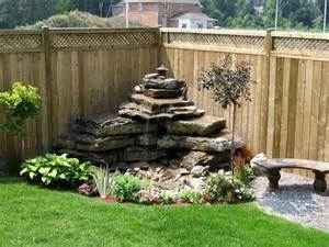 Backyard Water Features Ideas Amazing Diy Water Feature Ideas On A Budget S Crafts