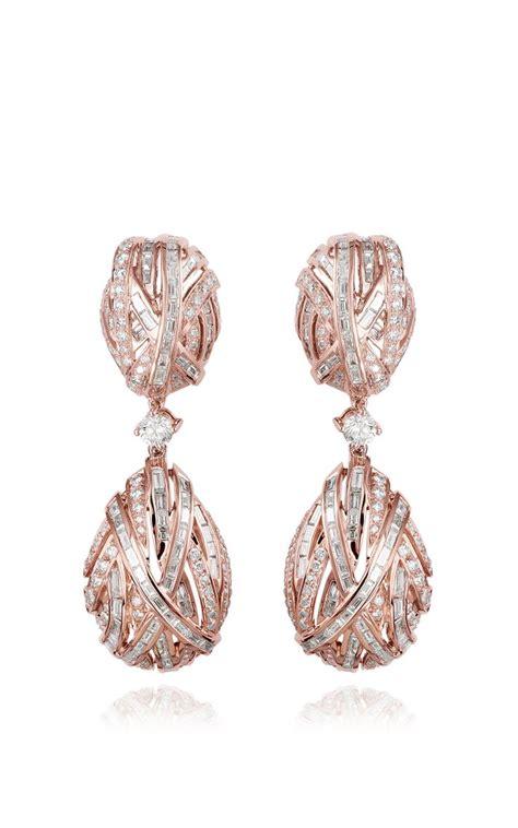 the earring of eternity by farah khan fine jewelry for