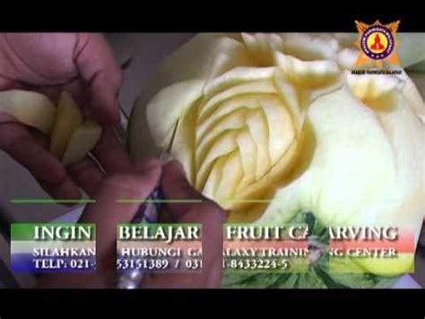 cara membuat corak buah dari muhd youtube cara membuat fruit carving bentuk bunga ros dari buah
