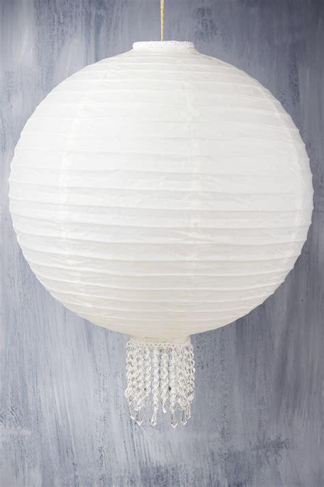 Paper Lantern White 16 quot white wedding paper lanterns