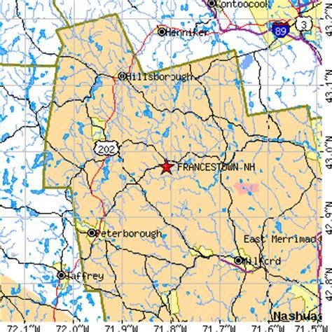 francestown, new hampshire (nh) ~ population data, races