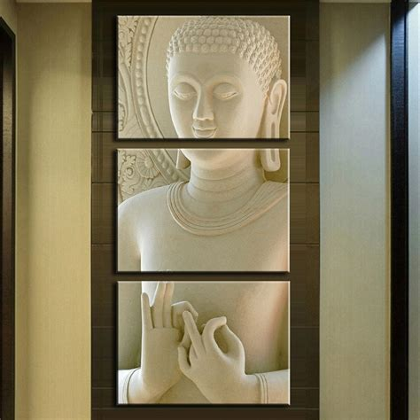 painting for home decoration aliexpress buy modern buddha painting 3 picture home