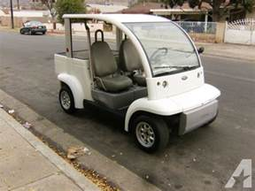Electric Vehicles For Sale In California Golf Cart Ford Think Electric Vehicle Utility Cart