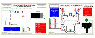 occupant emergency plan template emergency diagram uncategorized free wiring