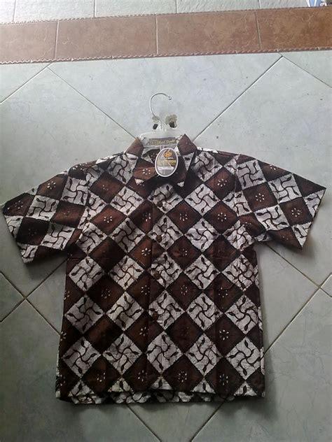 Kain Batik Cap Kode Ac 1426 kemeja batik anak kombinasi fendy batik