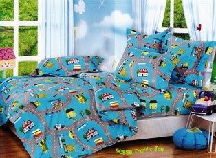 Sprei Bed Cover Katun 180x200x20 New Keropi 301 moved permanently