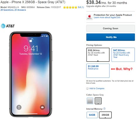 psa iphone x and iphone 8 are more expensive at best buy when you pay the price upfront