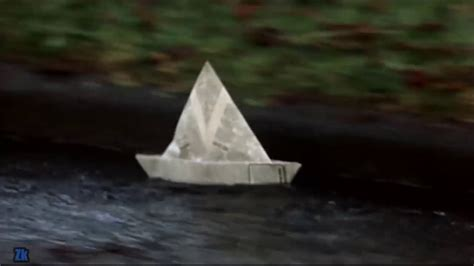 how to make a paper boat pennywise hiya georgie youtube