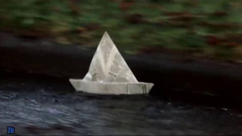 how to make a paper boat it movie hiya georgie youtube