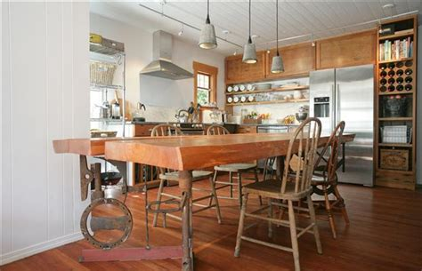 Pine Kitchen Islands the secret charms of an upcycled kitchen