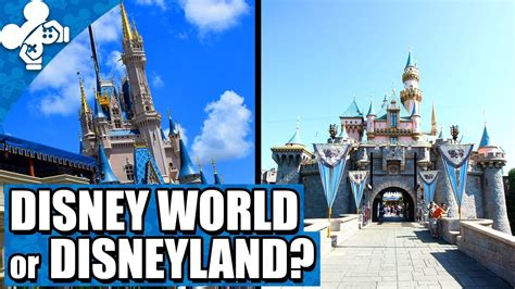 the better disney disney world vs disney land smackdown disneyland vs disney world youtube