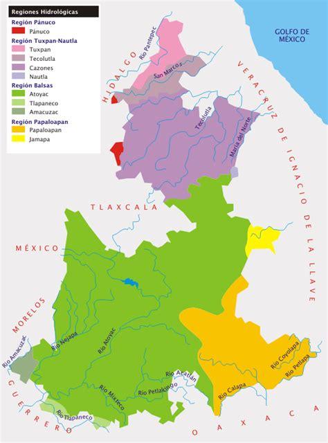 mapa de puebla mexico file puebla hidro png wikimedia commons
