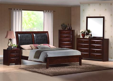 emily bedroom set emily upholstered low profile bed contemporary bedroom set