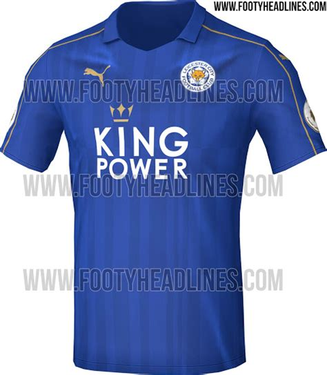 Original Jersey Leicester 16 17 Home Bnwt leicester city 16 17 home kit leaked footy headlines