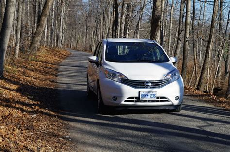 2016 nissan versa review review 2016 nissan versa note sl canadian auto review