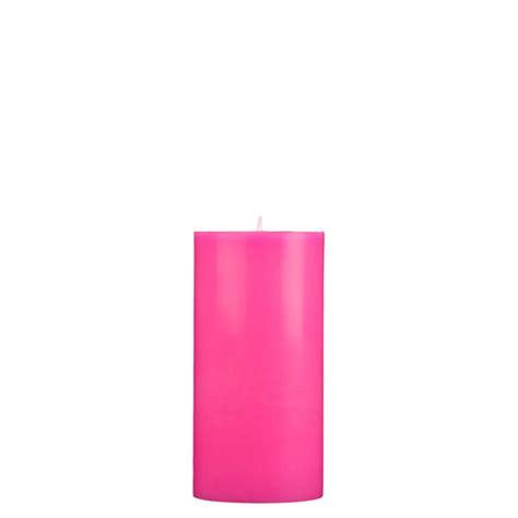 Pink Candles 3x6 Pink Pillar Candle