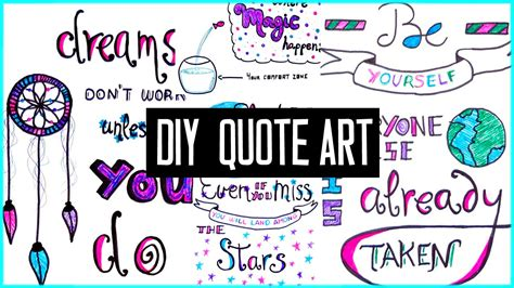 Quotation Wall Stickers diy motivational quote art for back to school to decorate