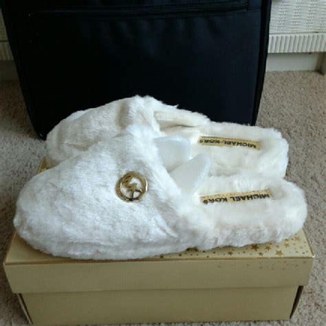 Michael Kors House Slippers by 29 Michael Kors Shoes Michael Kors Faux Fur