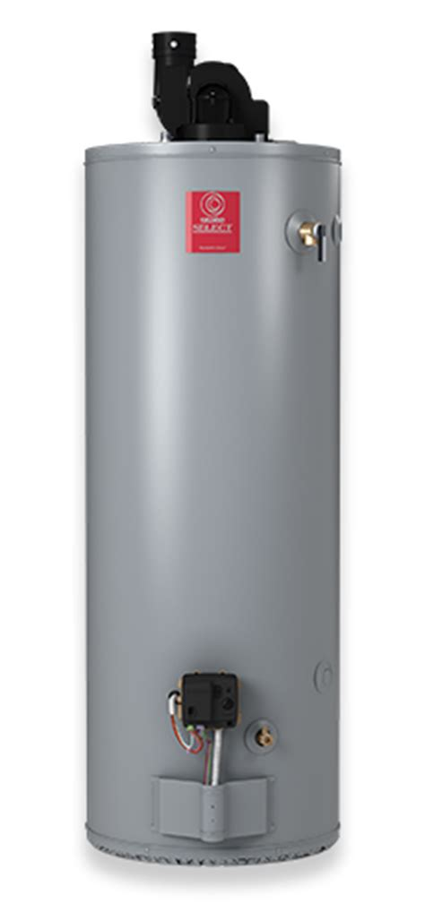 select® power direct vent 40 gallon propane water heater