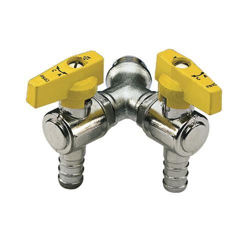 rubinetto doppio rubinetto doppio a sfera a squadra per gas liquido con