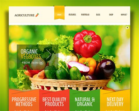 theme wordpress agriculture free agriculture whole foods organic market wordpress theme