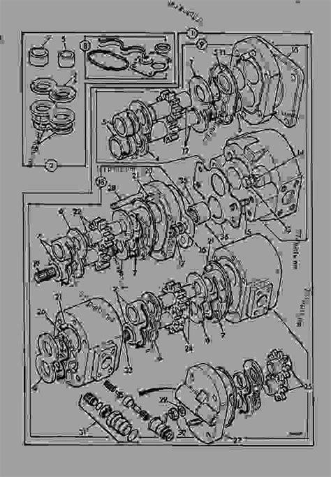pump main hydraulic construction jcb  crawler