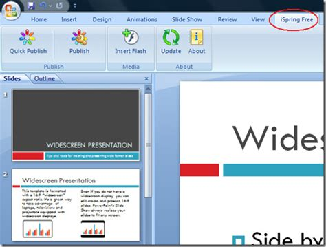How To Convert Ms Powerpoint Presentation Ppt Into Flash Formatting A Powerpoint Presentation