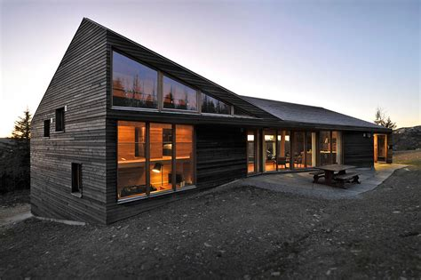 Small Chalet Floor Plans by Modern Ski Lodge In Kvitfjell Norway Twisted Cabin